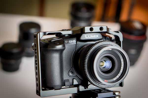 GH5 with my lens kit