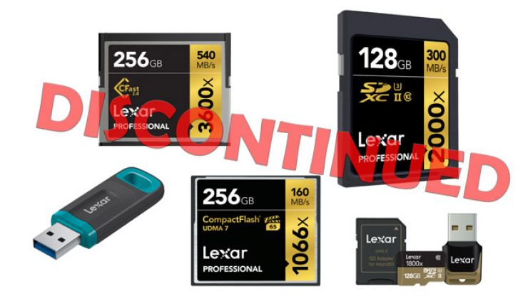 Lexar group DISCONTINUED