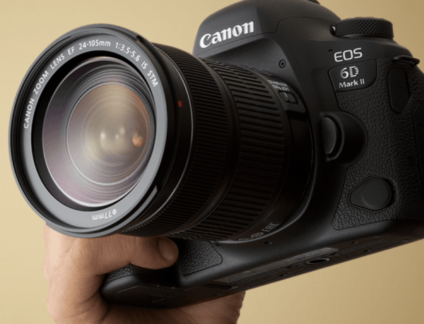 Canon drops the EOD 6D Mark II full-frame DSLR