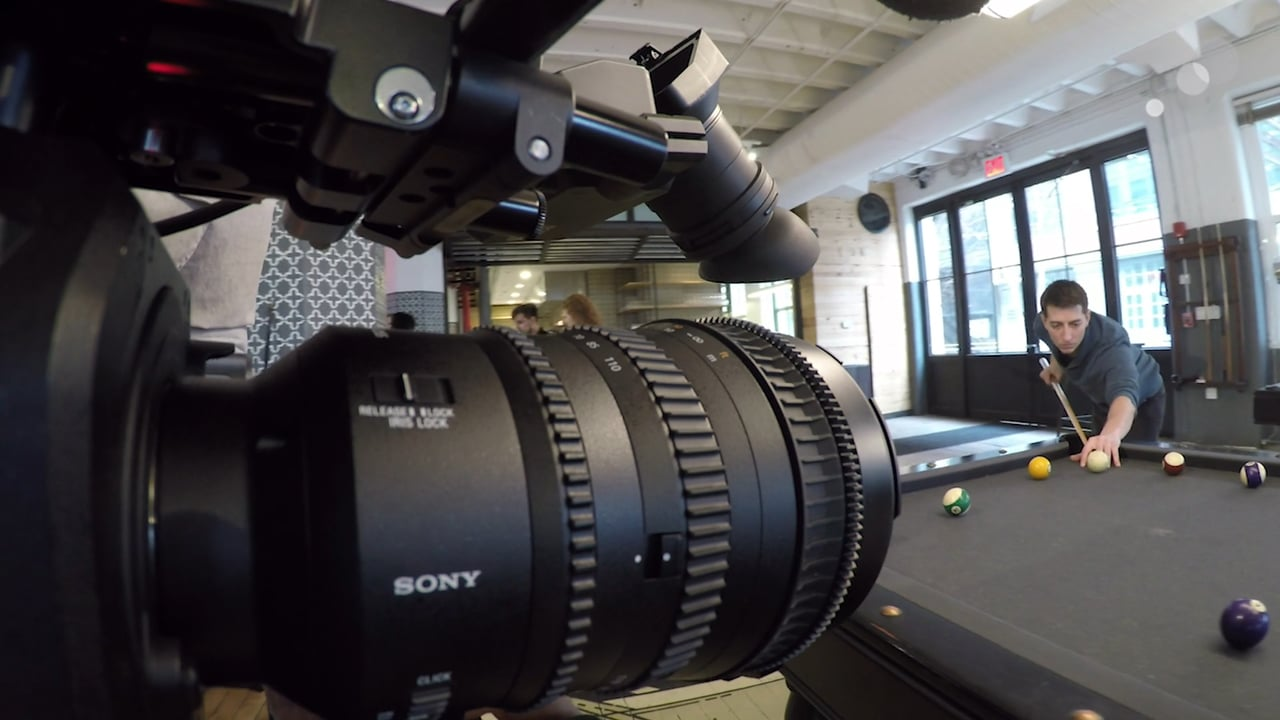Sony 18-110mm cinema lens is light and compact with power