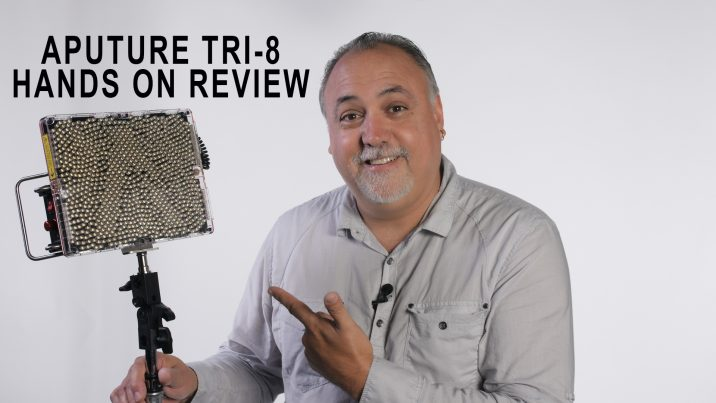 Aputure TRI-8 review: 888 LEDs packed into a solid fixture