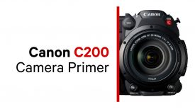 Canon C200 Camera Primer Trailer