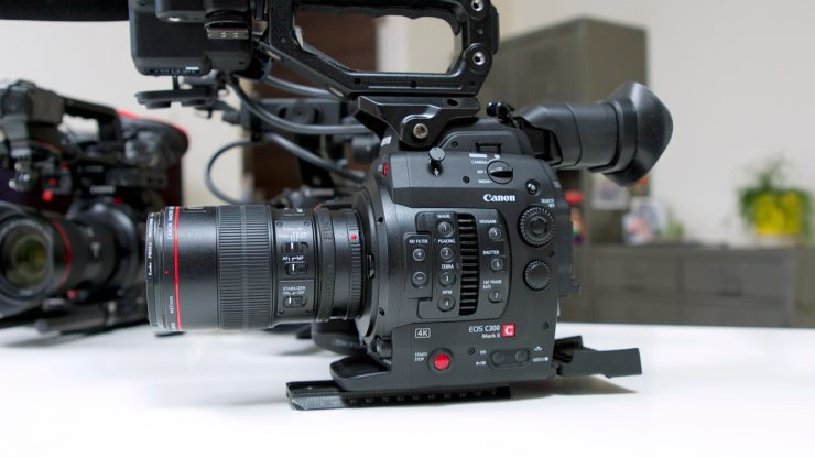 Canon firmware updates for the C300 Mark II and C100 Mark II