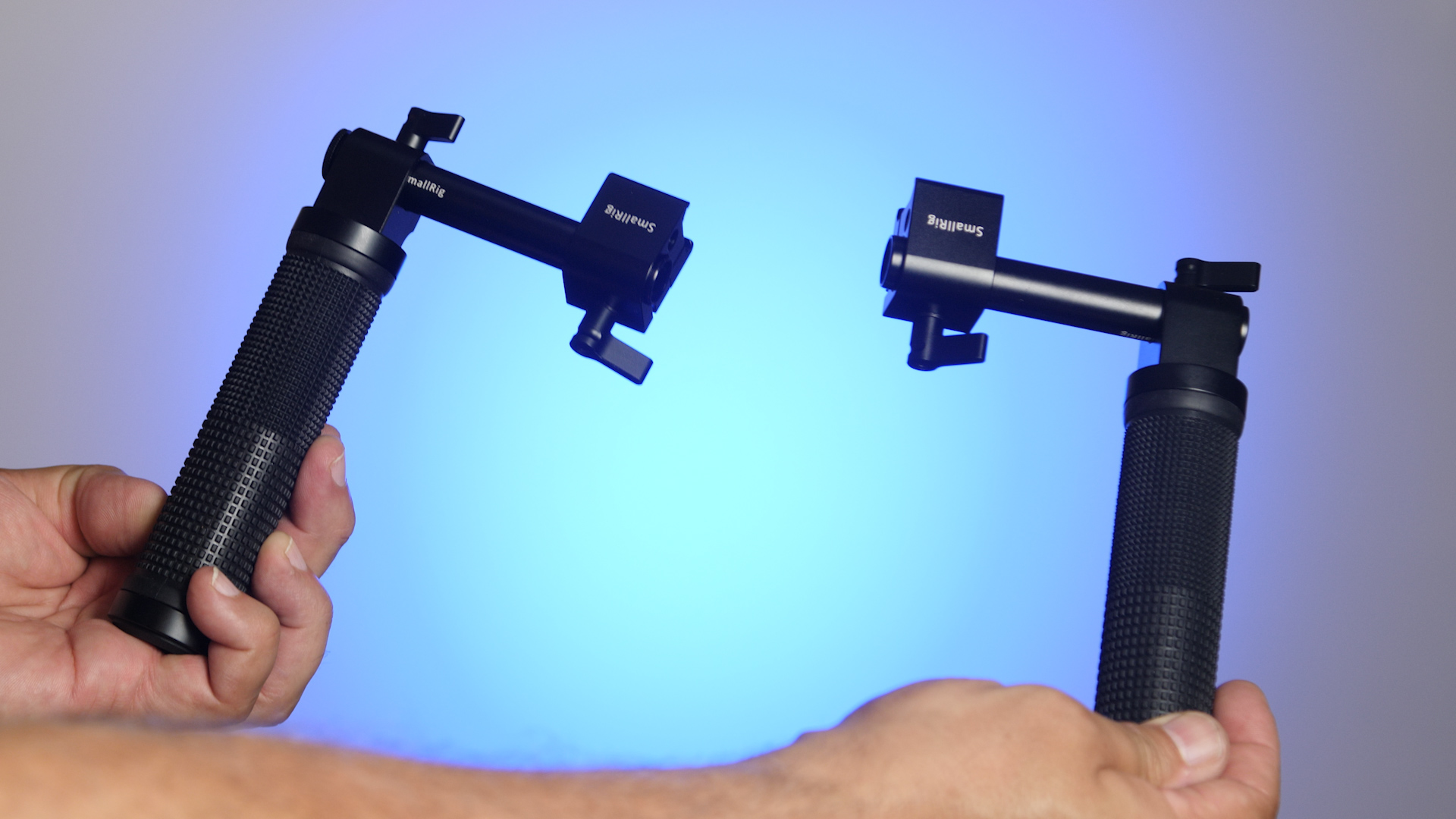 SmallRig handles rod and NATO clamp