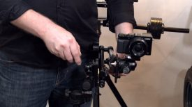 9.Solutions Mini C Pan Arm Newsshooter at IBC 2017