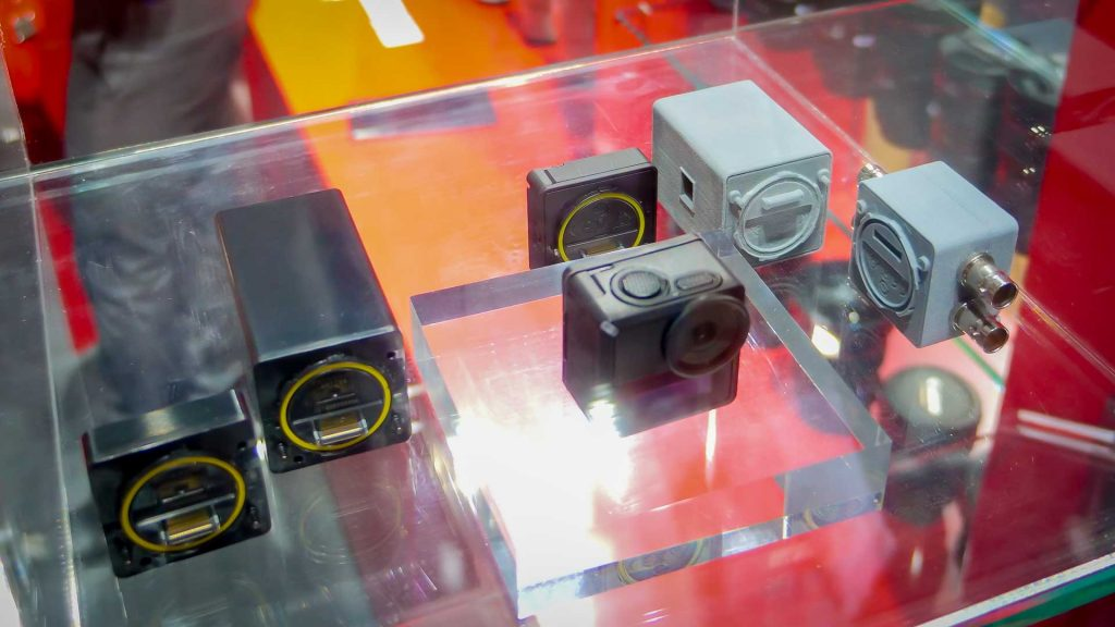 Canon modular camera group from top