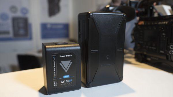 Hawk Wood's Mini-V V-Lock batteries