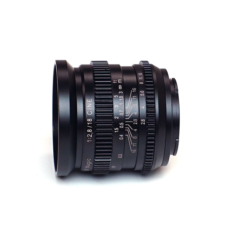 SLR Magic CINE 18mm f/2.8 wide angle full frame E-mount lens ...