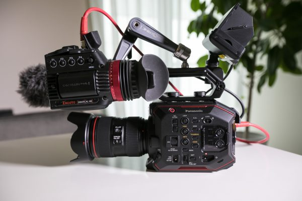 EVF with the Panasonic EVA1