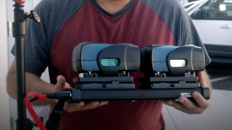 Aputure 300D AB Batteries