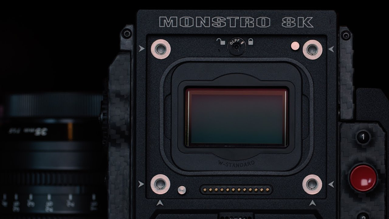 Red Brings Out A New Sensor For Weapon Monstro 8k Vv