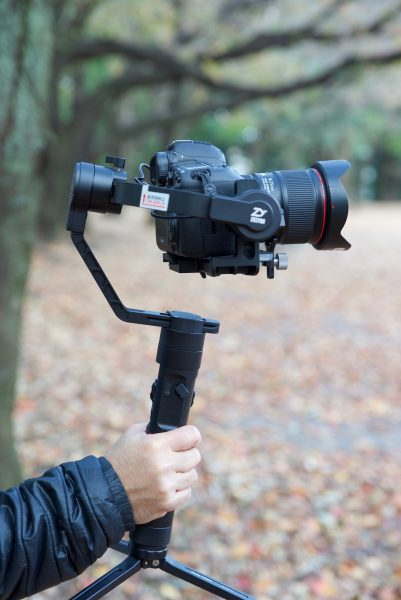 Zhiyun-Tech Crane 2 – 3-axis handheld stabilizer with integrated
