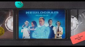 HEWLOGRAM sci fi comedy short starring David Hewlett
