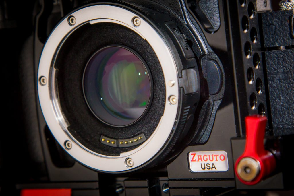 GH5 Zacuto Cage Metabones EF adapter issue
