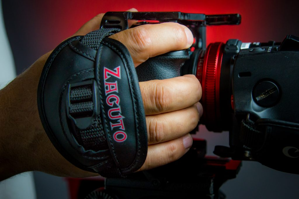 GH5 Zacuto Cage strap with hand