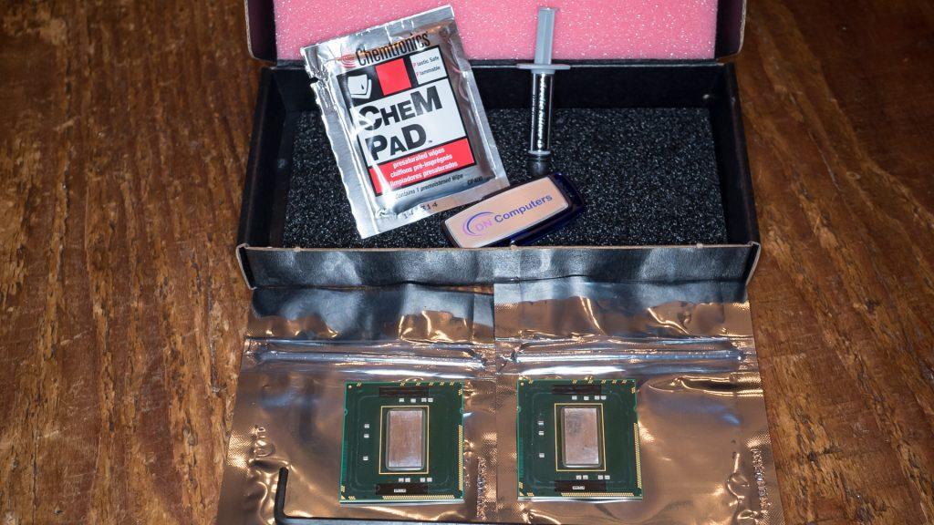 Mac Pro New CPUs