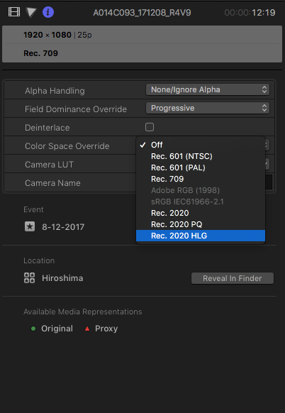 Final Cut Pro X 10 4 simplifies working in HDR - Newsshooter