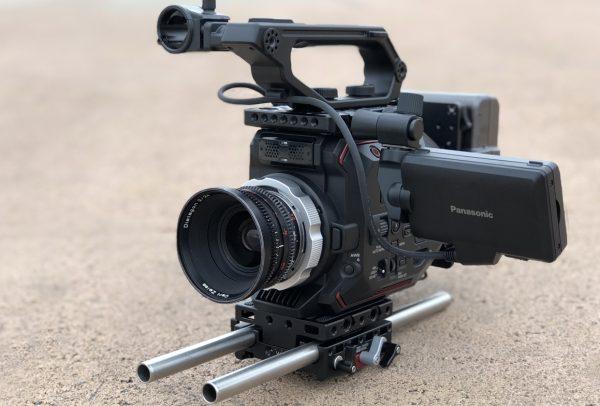 Wooden Camera PL Mount Modification Kit for the Panasonic EVA1