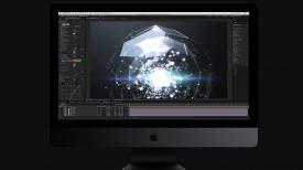 iMac Pro running AE