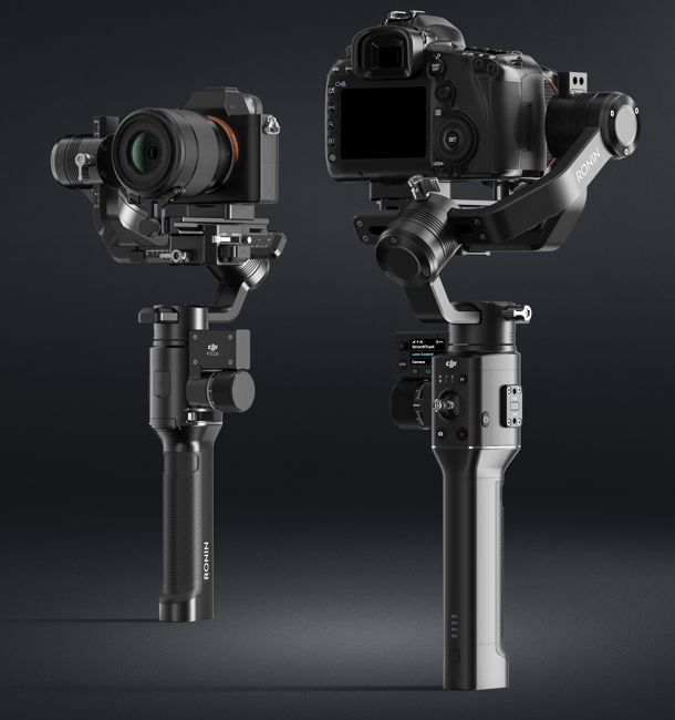 DJI Ronin-S side