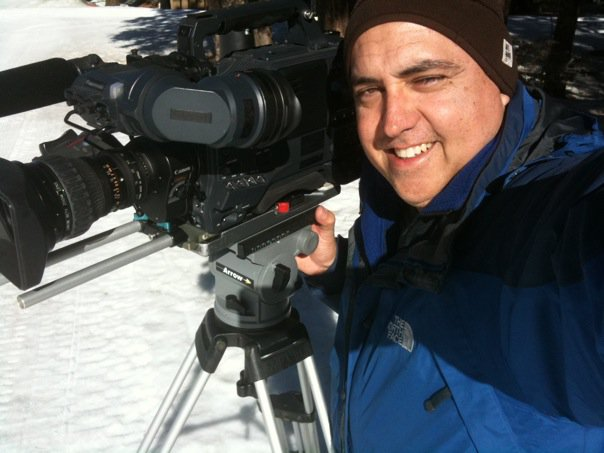 Erik with ENG Camera