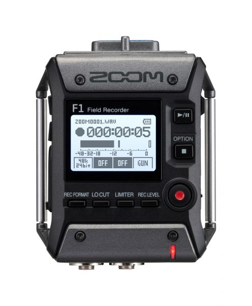 Zoom's new compact F1 Field Recorder - Newsshooter