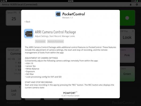 Pomfort PocketControl for Arri Cameras review - Newsshooter