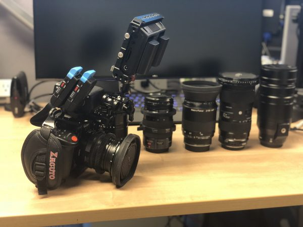 Sky News Washington cameraman Duncan Sharp on shooting with the GH5