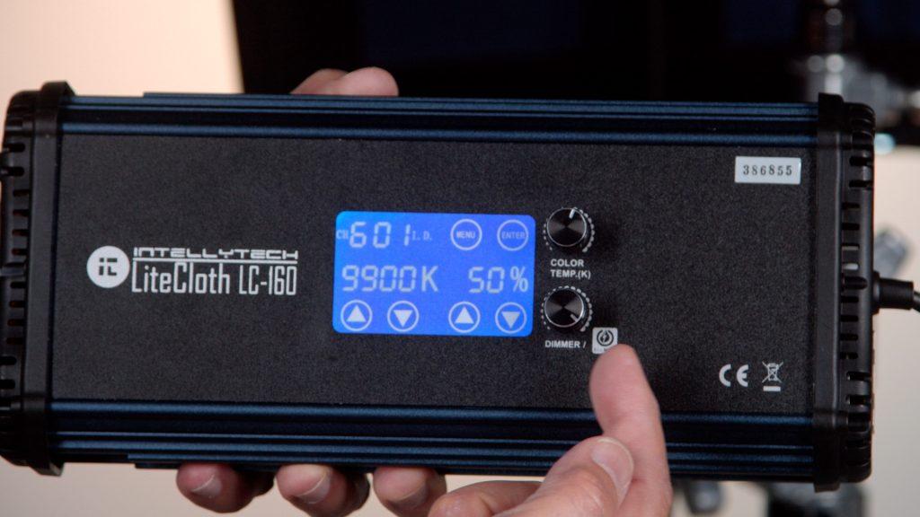 LC-160 litecloth Controller dial