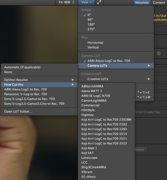 Kyno 1 4 brings a new Windows version, LUTs, and new codec