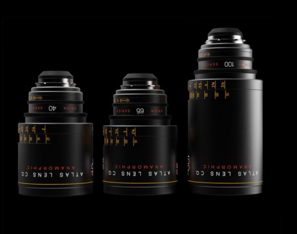 Atlas Lens Co. Orion Series Anamorphic Primes - 40mm, 65mm, 100mm
