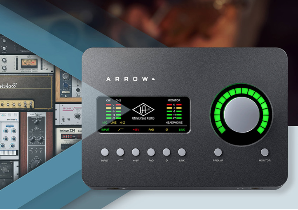 Universal Audio Arrow 2x4 Thunderbolt 3 Audio Interface - Newsshooter