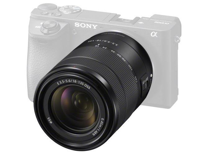 Sony 18-135mm F3.5-5.6 on camera