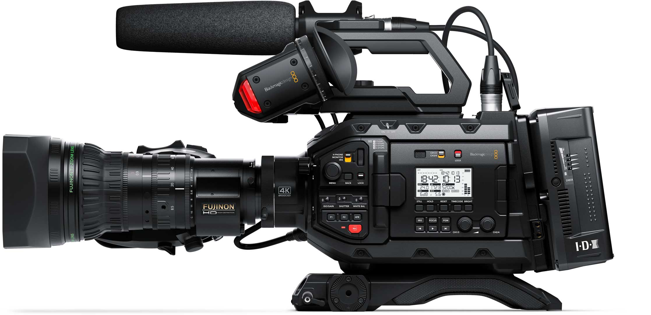 Blackmagic design introduces a 4k ursa broadcast camera - Tv in camera ...