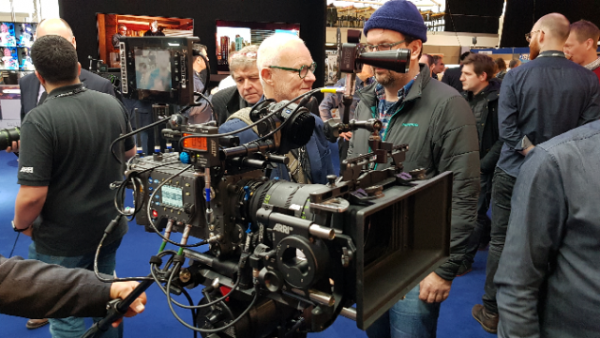 ARRI ALEXA LF first look at BSC EXPO with Rodney Charters ASC
