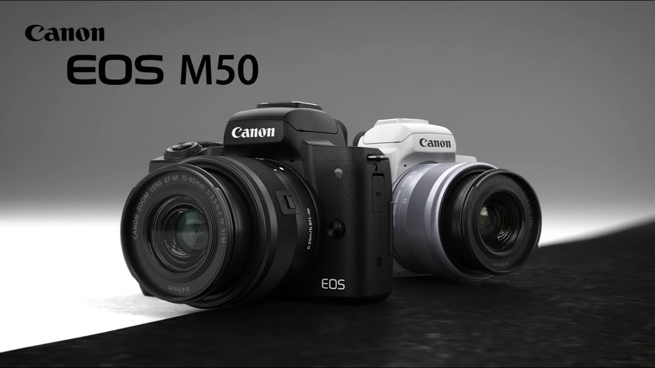 Canon EOS M50 With 4K Mirror-less Camera Launched in India