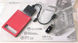 BVE 2018 Anglebird AV PRO mk 3 250GB 500GB 1TB SSD Drive for URSA Mini SSD Recorder Atomos recorders