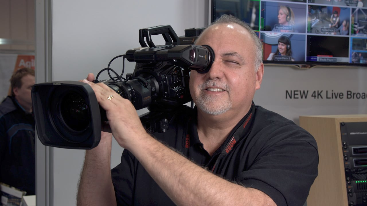 Bve 2018 Blackmagic Design Ursa Broadcast Camera Newsshooter