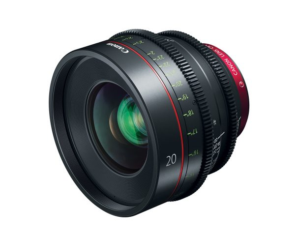 Canon announces the CN-E 20mm T1.5 Cinema Prime Lens