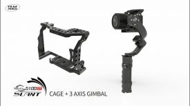 Nebula 5100 α7 Cage a professional gimbal for Sony α7 series