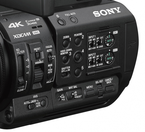 Sony unveils the 4K 4:2:2 10-bit PXW-Z280 and PXW-Z190 camcorders