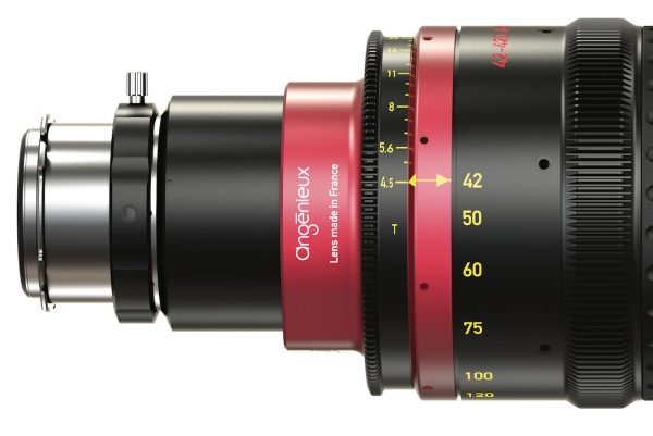 Angenieux Optimo 42-420mm A2S Long Range Anamorphic lens announced