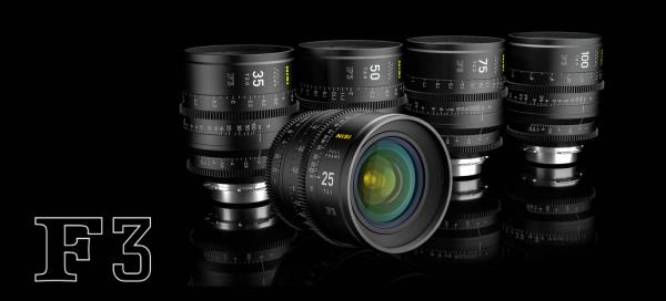 NiSi full frame PL mount F3 prime lenses