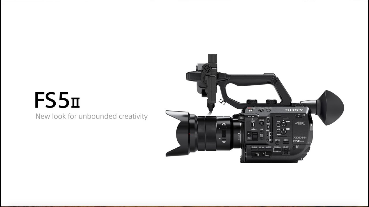 Sony announces the FS5 II - Newsshooter
