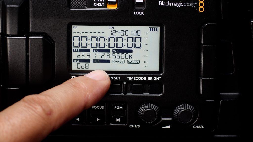 URSA Broadcast Camera NO IRSI INFO