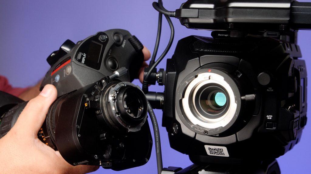 URSA Broadcast Camera Review_B4 lens
