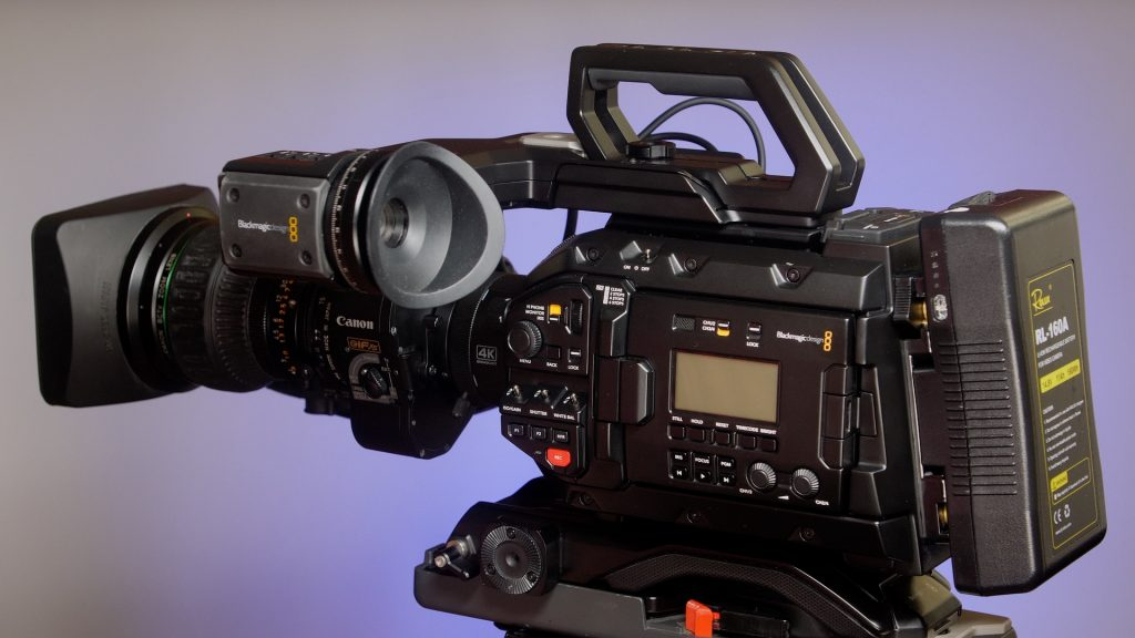 URSA Broadcast Camera Review_Full camera