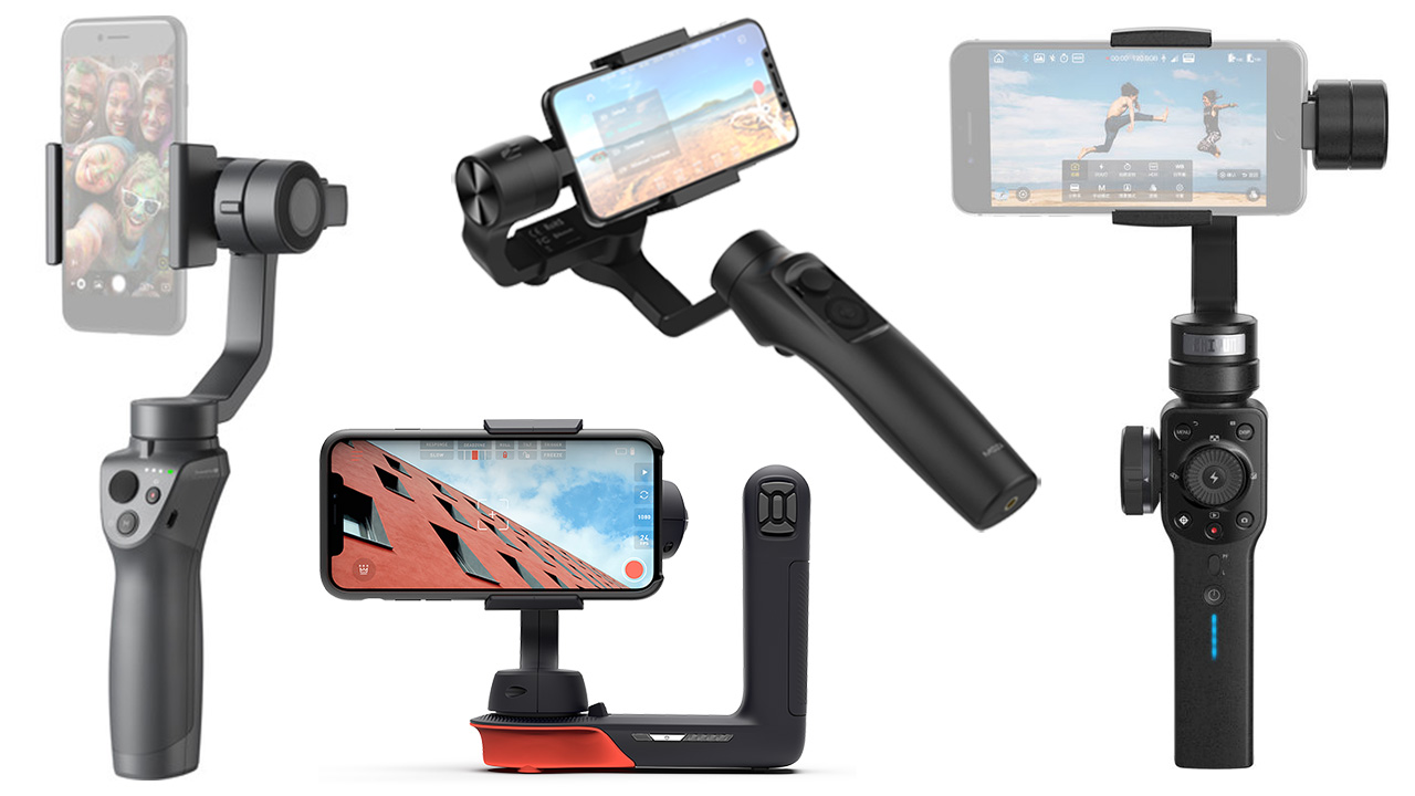The Battle Of Smartphone Gimbals Newsshooter Dji Osmo Mobile Free Base Camera Capability Smartphones Has Been A Big Focus For Past Few Years Especially On New Iphones Googles Pixel 2 Samsung Galaxy Phones