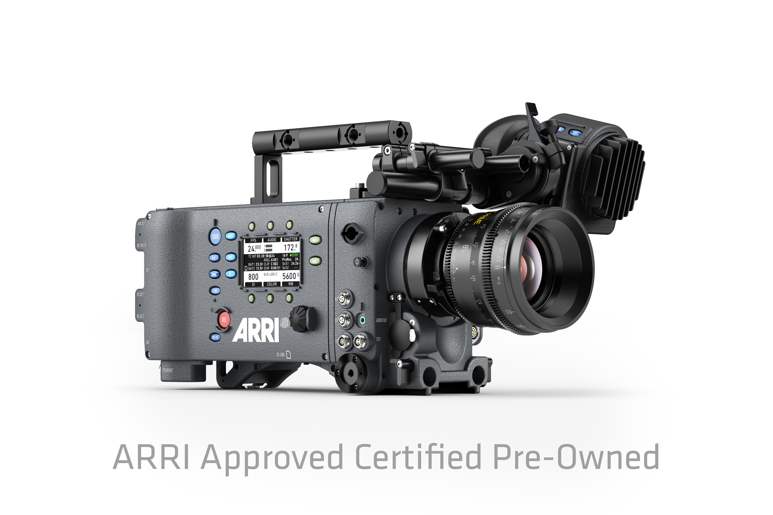 arri approved certified pre owned program buy a second hand alexa