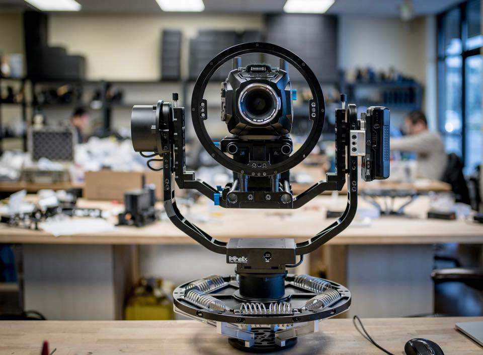 Letus Helix Remote Head High End Cinematography Gimbal